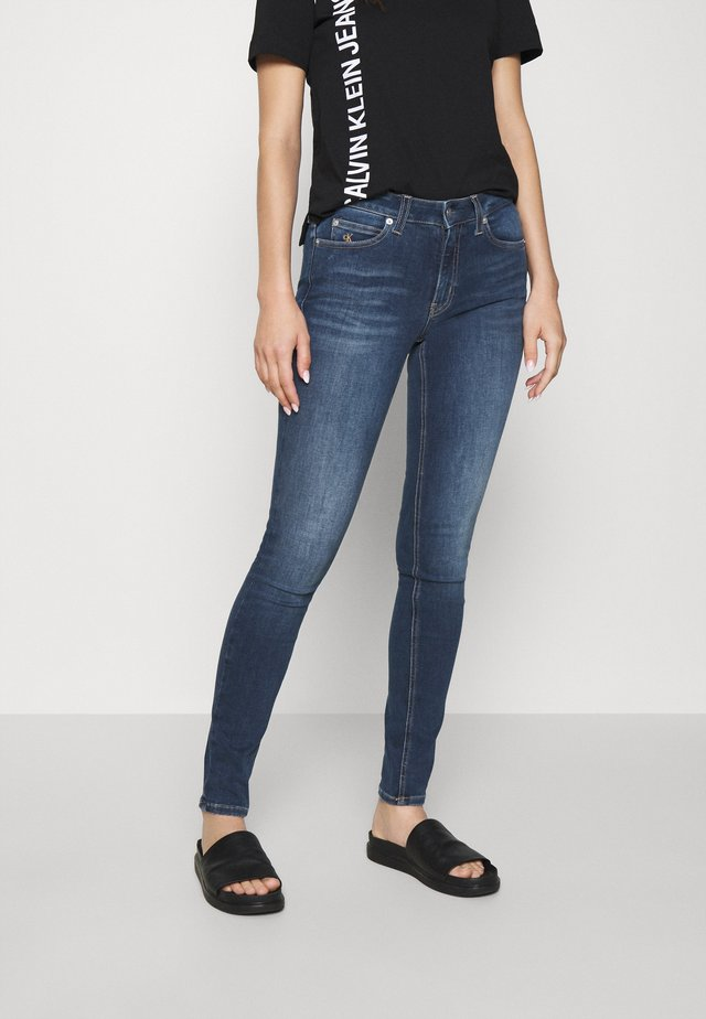 MID RISE  - Jeans Skinny Fit - mid blue