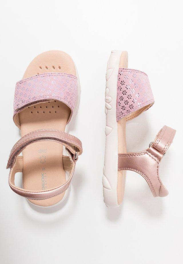 HAITI GIRL - Sandals - rose