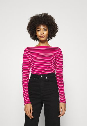 BATEAU - Long sleeved top - pink stripe