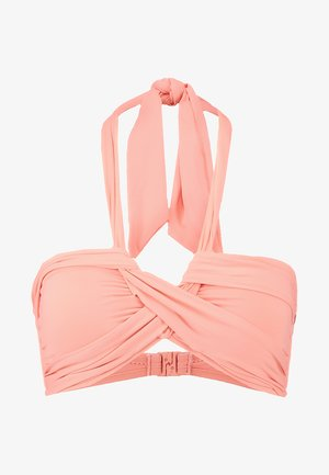 BANDEAU - Bikini top - peach
