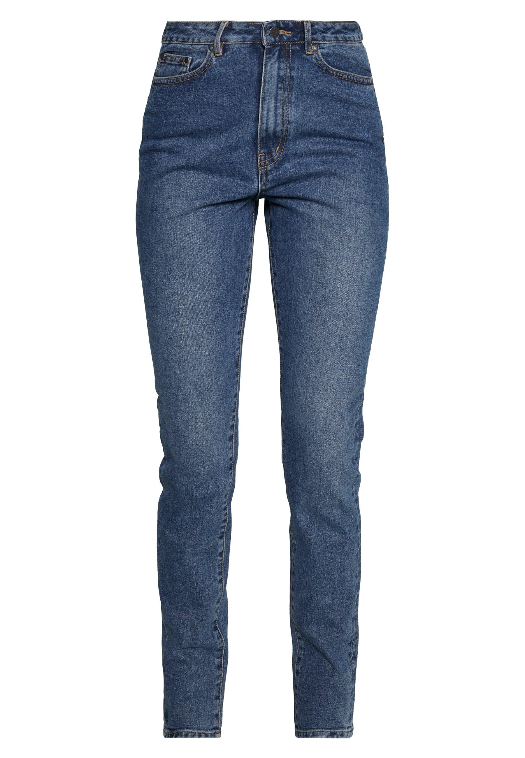Object Tall HANNAH  - Slim fit -farkut - medium blue denim z6QC7