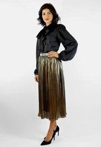 Aline Celi - MARI - Button-down blouse - black - 1