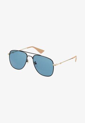 Sunglasses - black/gold-coloured/blue