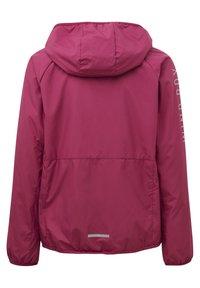 adidas Performance - G W.RDY WB - Training jacket - berry - 1