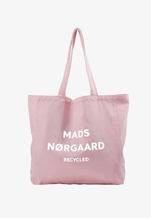 BOUTIQUE ATHENE - Tote bag - pink/white