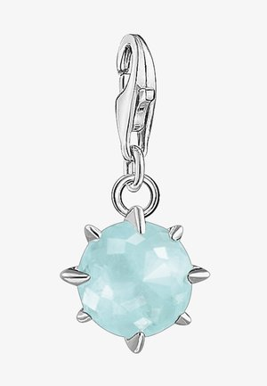 Pendant - white/light blue/silver