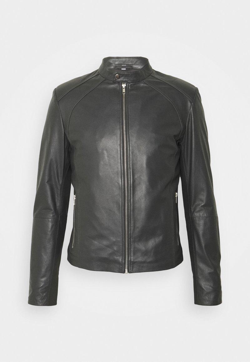 Serge Pariente - LENI - Leather jacket - grey