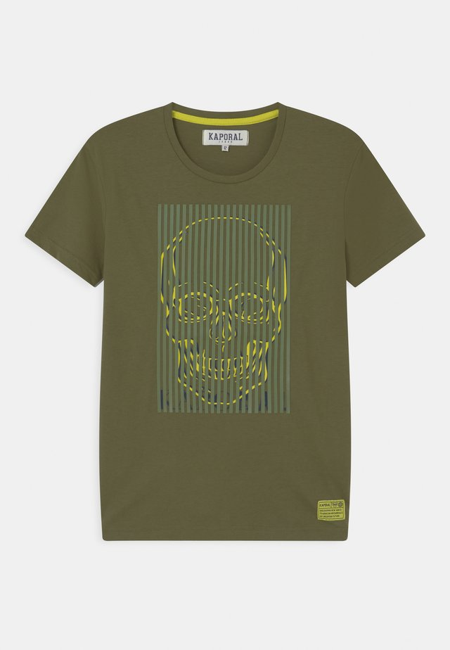 SKULL PHOTO - T-shirt imprimé - ligkak