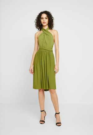 MULTI WAY MIDI - Jerseyklänning - olive
