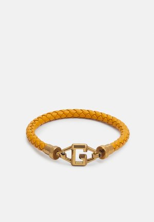 BRACKETS UNISEX - Bracelet - mustard/antique gold-coloured