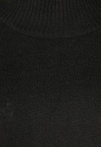 Zizzi - MIT KNOPFDETAILS - Cape - black - 2