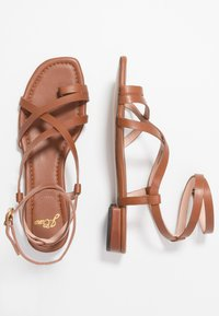 J.CREW - TOE STRAPPY LUCY  - Tongs - warm sepia - 3