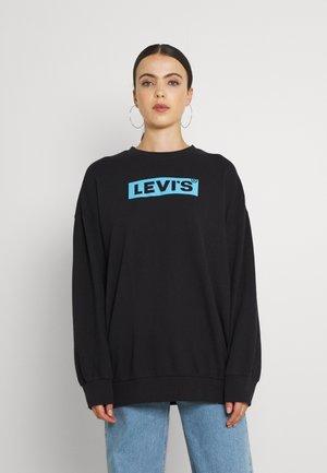 GRAPHIC PRISM CREW - Sweatshirt -  caviar