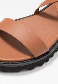 Even&Odd - Sandals - cognac - 2