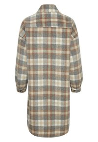 Cream - TARACR OZ SHIRT - Classic coat - feather gray check - 4