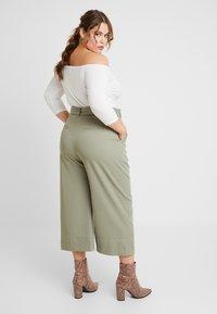 River Island Plus - Trousers - khaki - 2