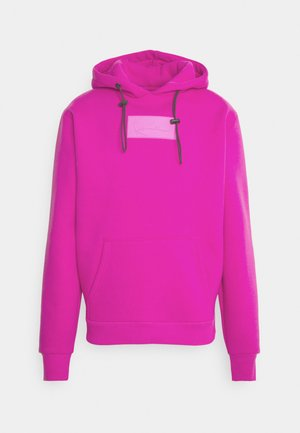 SMALL SIGNATURE BOX HOODIE UNISEX  - Sweatshirt - pink