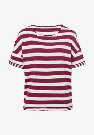 Style Rachel - T-shirt print - raisin
