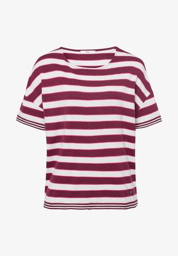 Style Rachel - T-shirt con stampa - raisin