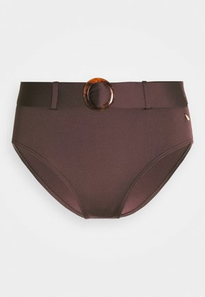 PANT HIGHWAIST - Bikinibroekje - brown
