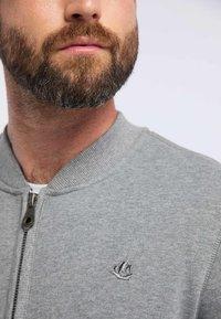 DreiMaster - DREIMASTER - Zip-up hoodie - grey melange - 3
