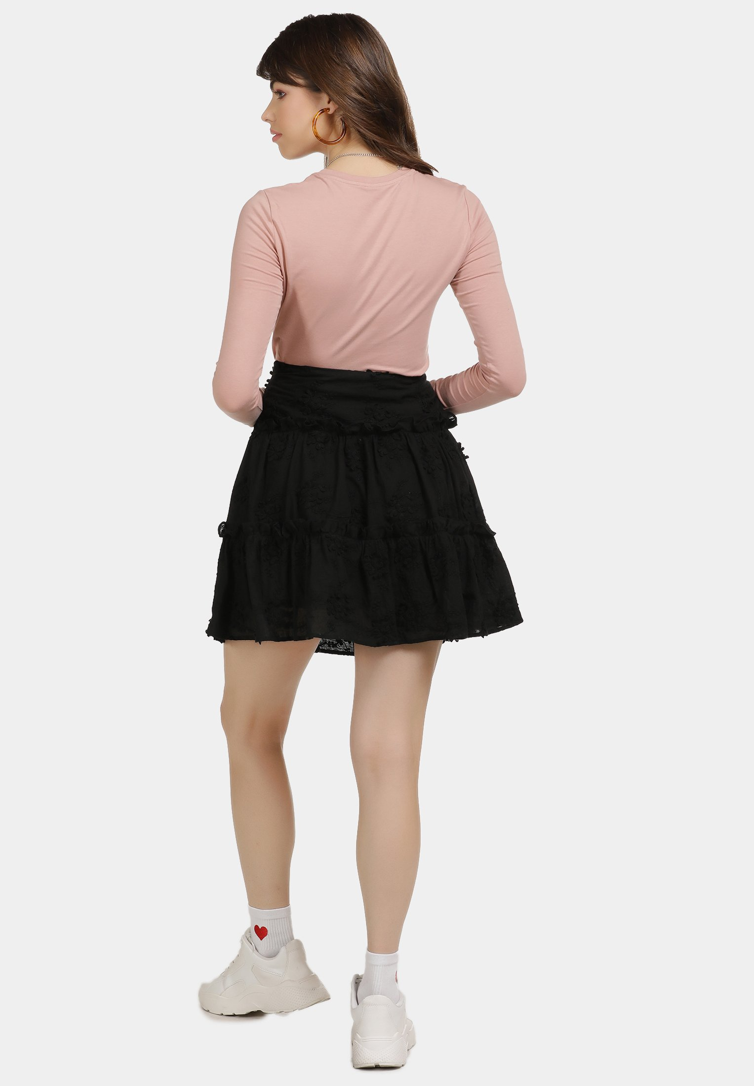 Clean And Classic Women's Clothing myMo A-line skirt schwarz EmB1R1NUd