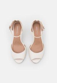 Anna Field - Peep toes - white - 5