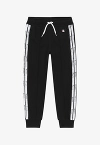 Champion - LEGACY AMERICAN TAPE - Pantalon de survêtement - black