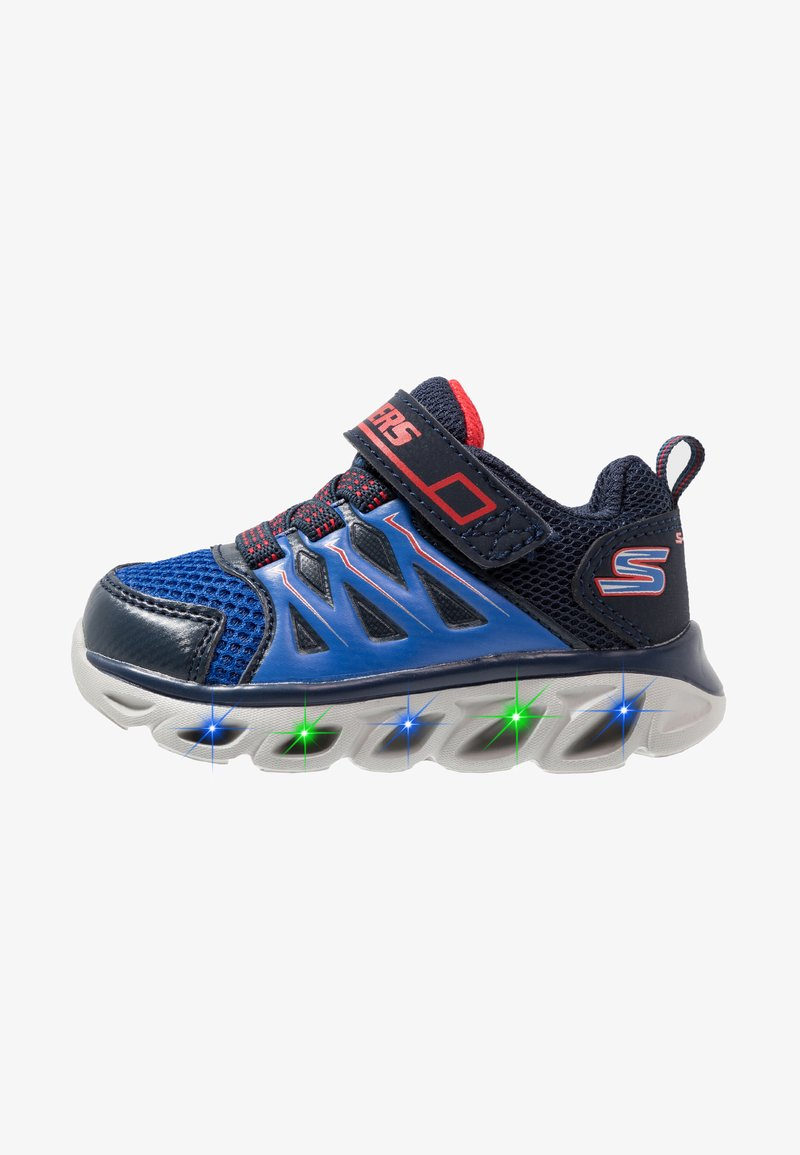 Skechers - HYPNO-FLASH 3.0 - Sneaker low - navy/red