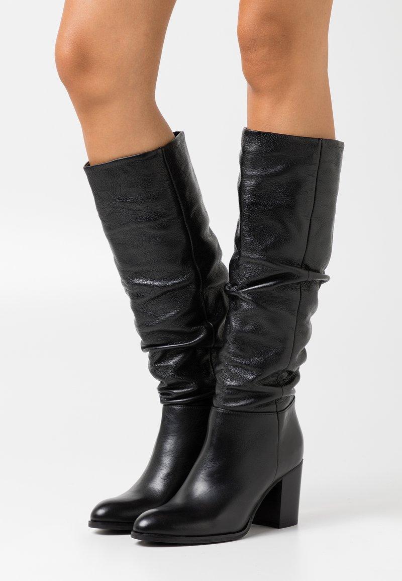 San Marina - MIALY - Vysoká obuv - noir