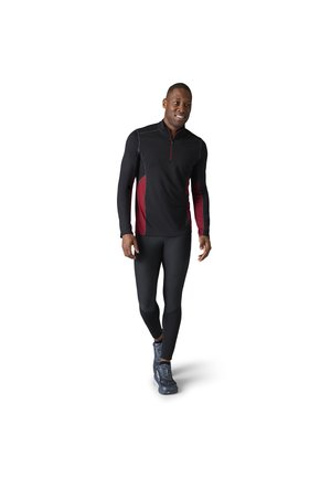 LIGHTWEIGHT SPORT 150 1/4 ZIP - Sweater - tbtn red h black