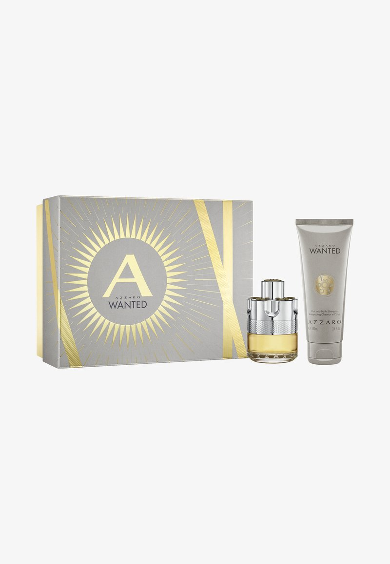 Azzaro Parfums - WANTED  SET EDT + HAIR & BODY - Fragrance set - -