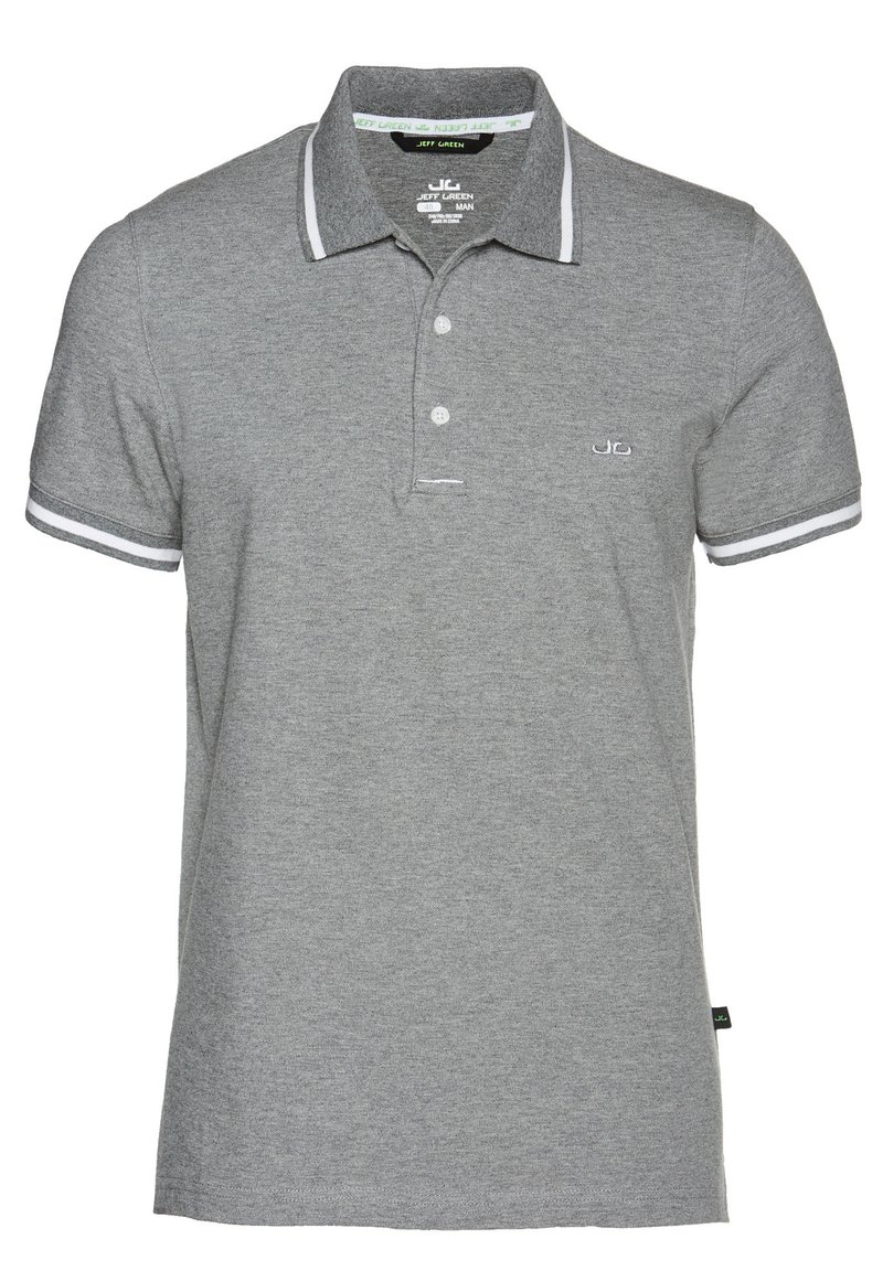 Jeff Green - Poloshirt - dark grey