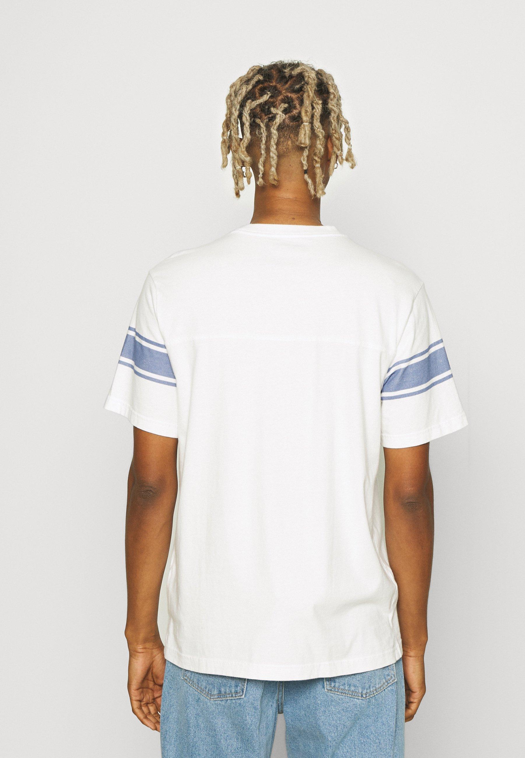 Men SLEEVE STRIPES FREE WASH - Print T-shirt