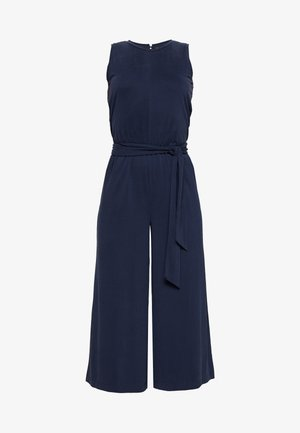 CROPPED WIDE LEG - Jumpsuit - preppy navy