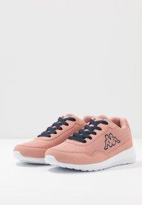 Kappa - FOLLOW - Scarpe da fitness - dark rosé/navy - 2