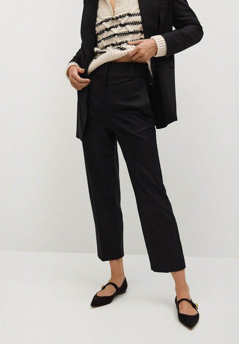 Mango - CANAS-I - Trousers - noir
