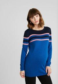 Esprit Maternity - SWEATER - Jumper - bright blue - 0