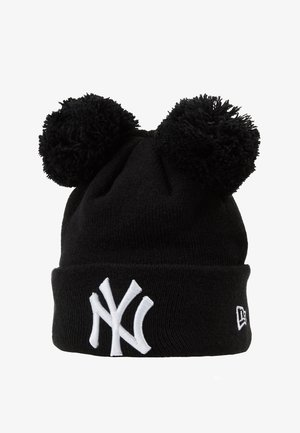 KIDS DOUBLE BOBBLE NEW YORK YANKEES - Lue - black/white
