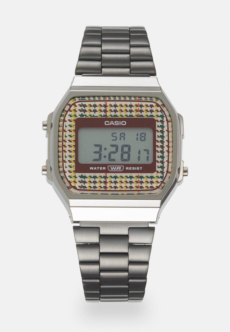 Casio - PUNTO UNISEX - Digital watch - gunmetal