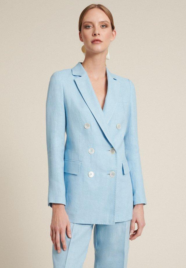 VERDETTO - Short coat - celeste