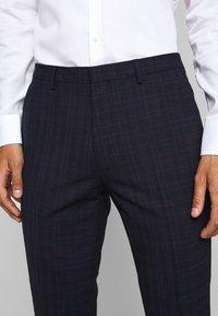 HUGO - ARTI HESTEN - Suit - blue/red check - 8