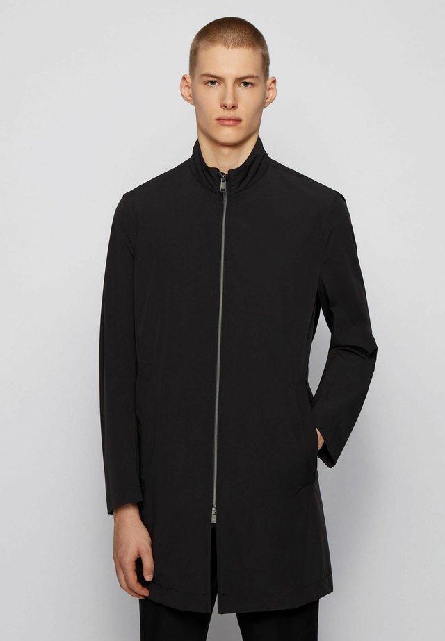 DEEAN - Klassischer Mantel - black