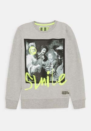NAZIO - Sweatshirt - light grey melee