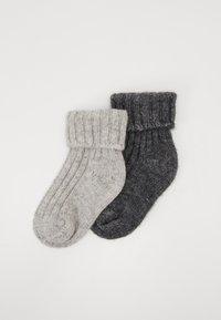 Ewers - KIDSSOCKS 2 PACK - Sokken - light grey/grey - 0