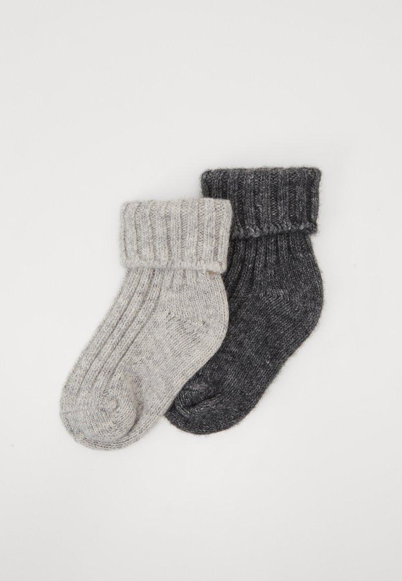 Ewers - KIDSSOCKS 2 PACK - Sokken - light grey/grey