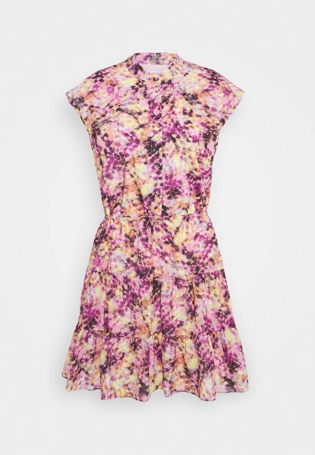 OLLIE DRESS - Shirt dress - purple/multi