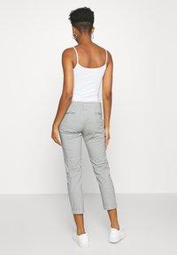 Pepe Jeans - MAURA STRIPE - Spodnie materiałowe - blue/white - 2