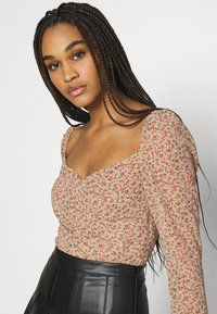 Missguided - DITSY MILKMAID SLIT CUFF - Blouse - multi - 3