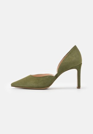 SHILA - Classic heels - moss